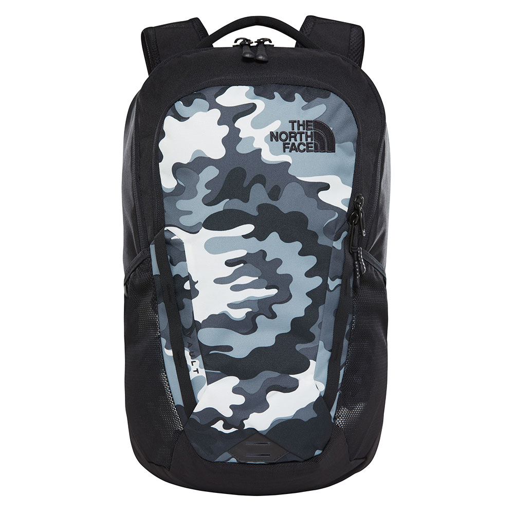The North Face Vault Backpack TNF Black Psychedelic Print/TNF Black