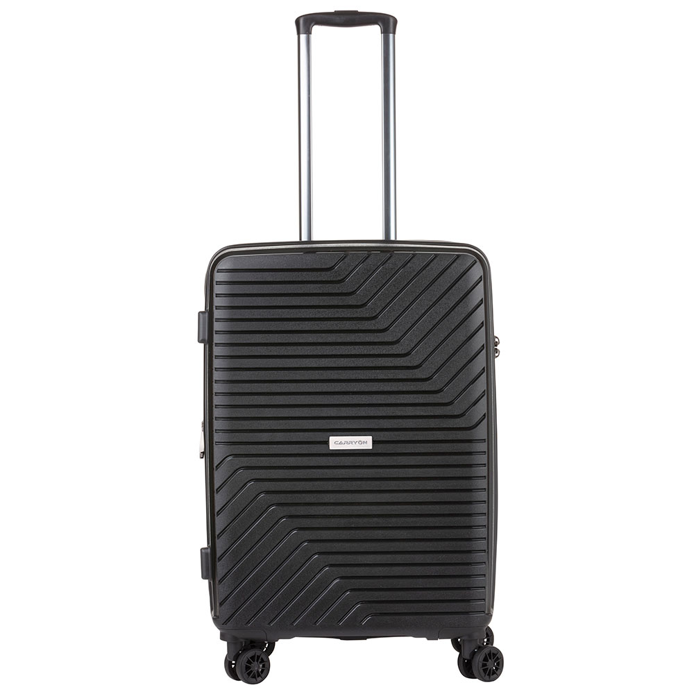 CarryOn Transport Spinner 68 Exp Black