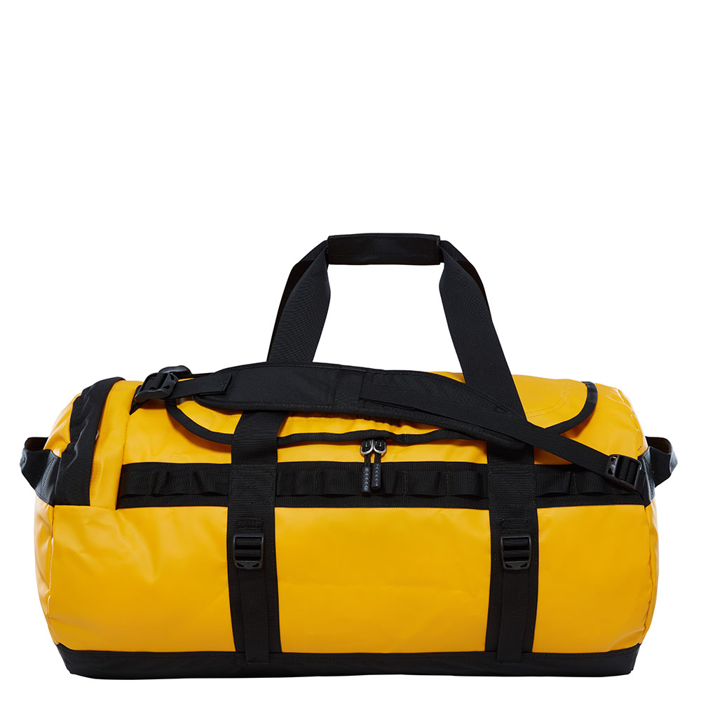 The North Face The North Face Base Camp Duffel M Summit Gold TNF Black Reistassen zonder wielen