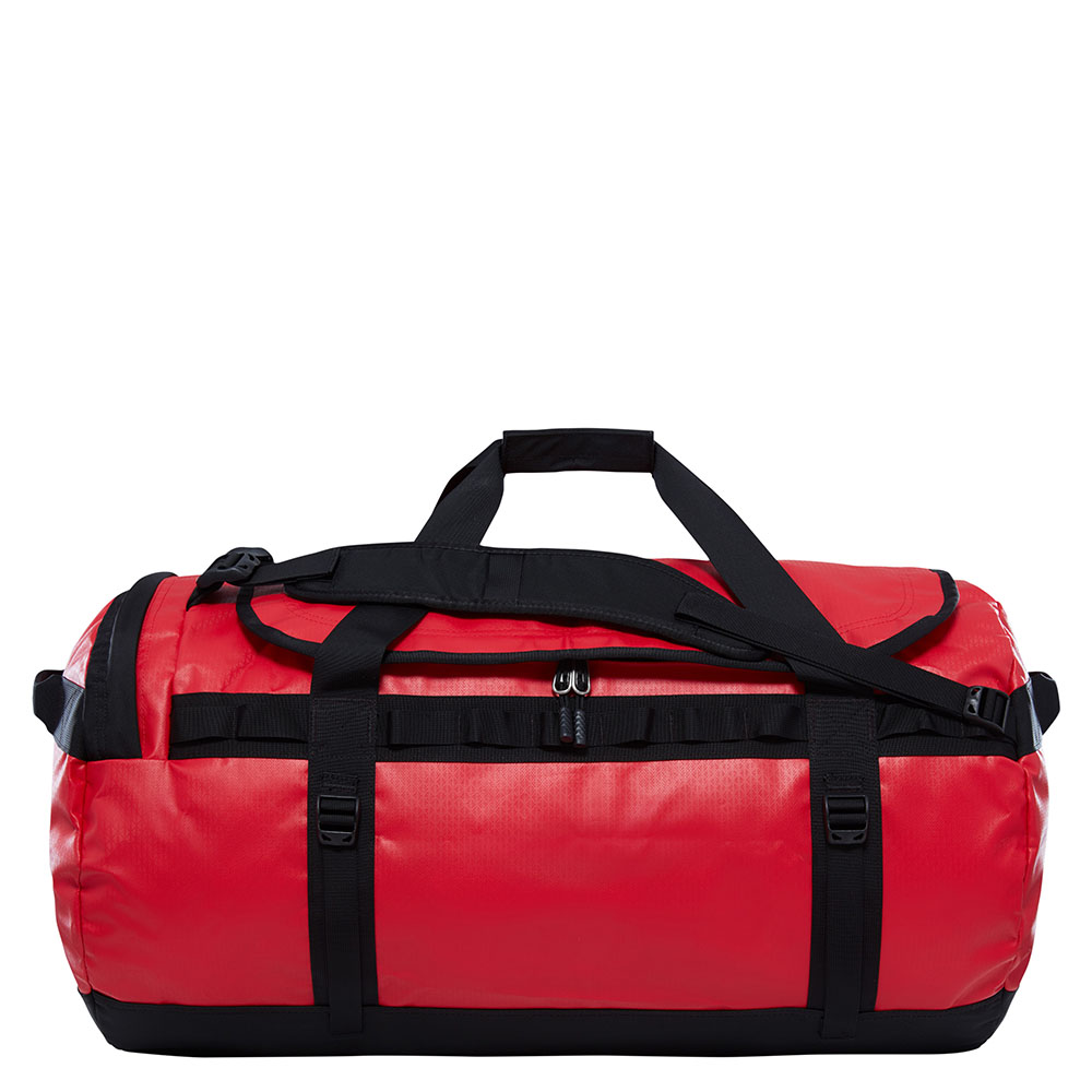 The North Face The North Face Base Camp Duffel L TNF Red TNF Black Reistassen zonder wielen