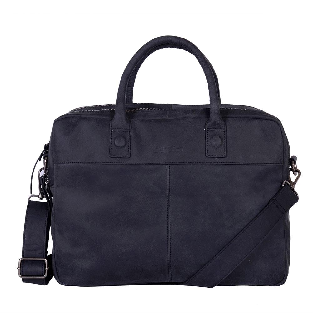 DSTRCT Wall Street Business 15,6 inch Laptoptas Black