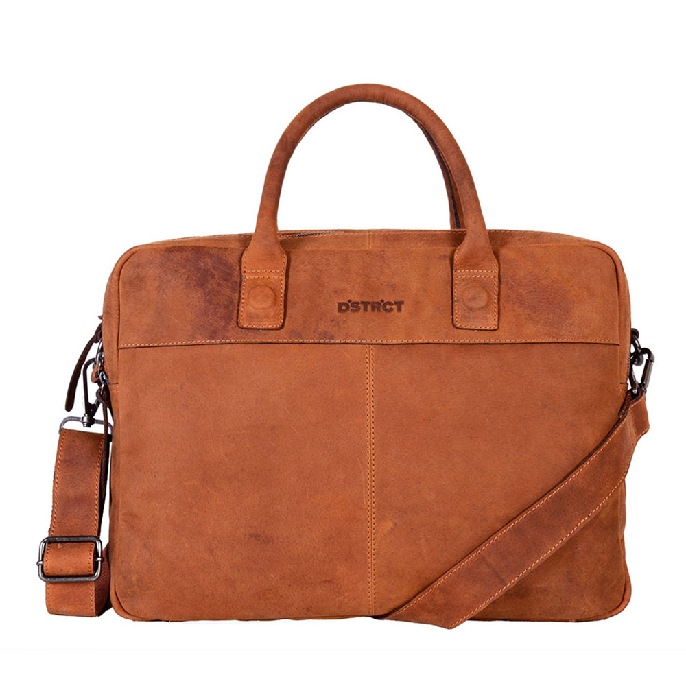 "DSTRCT Wall Street Business Laptoptas 15.6"" Cognac"