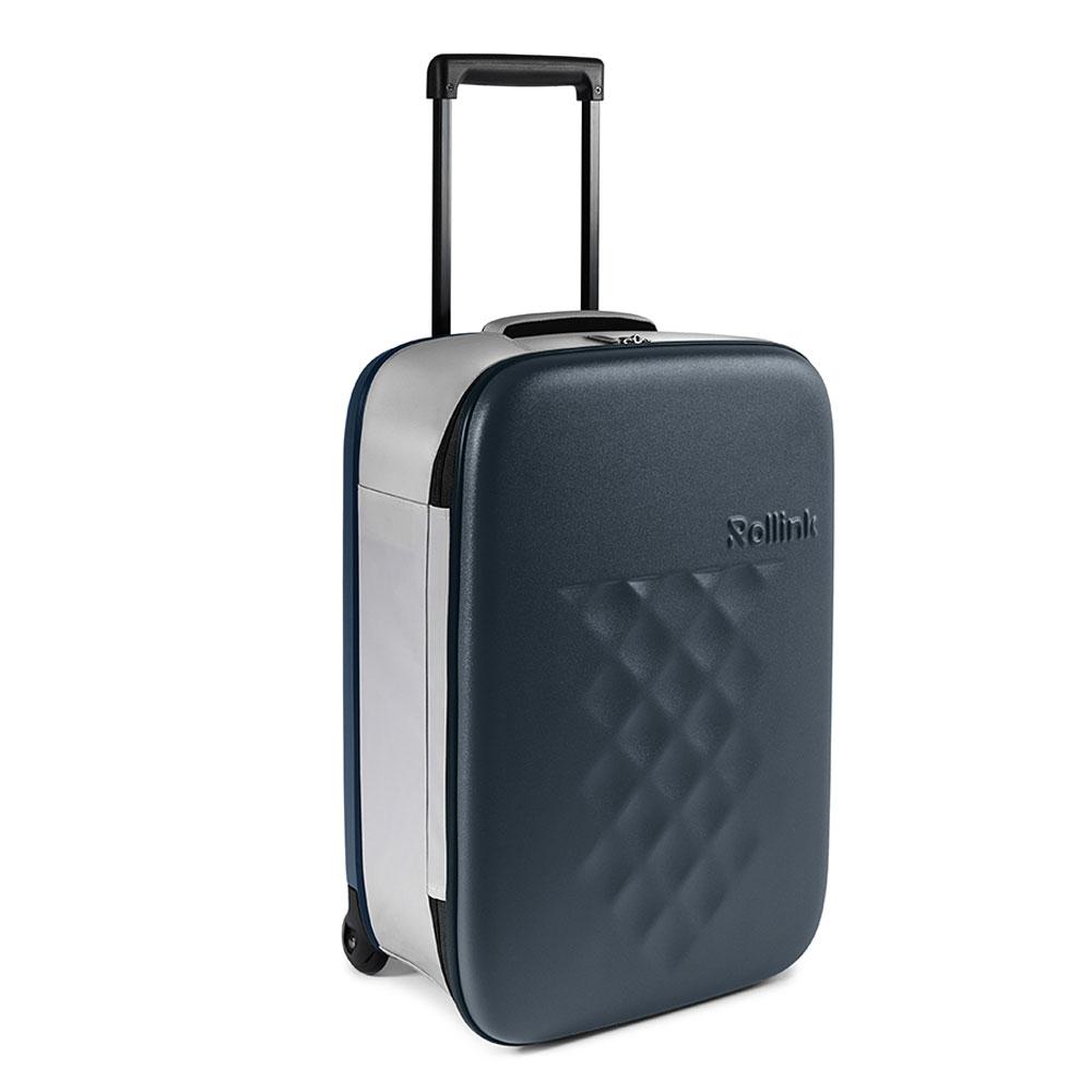 Rollink Flex Vega Opvouwbare Handbagage Koffer 55 Atlantic Blue