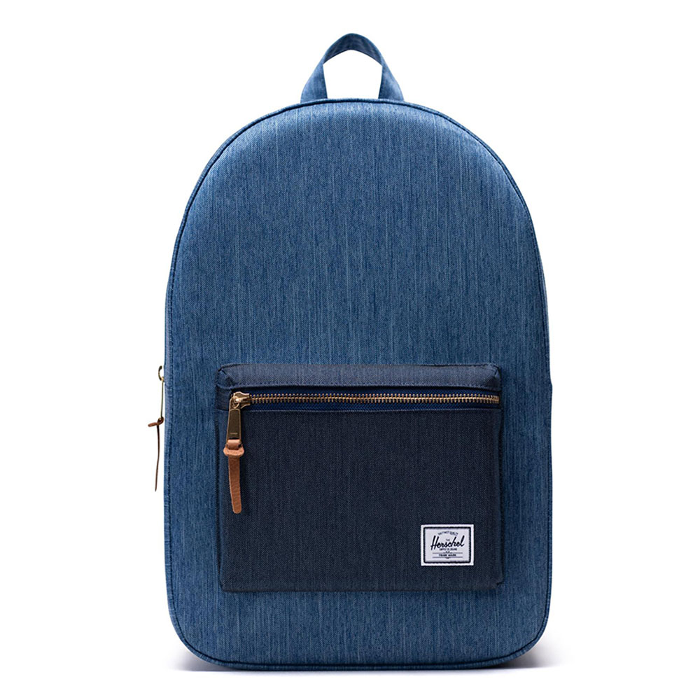 Herschel Settlement Rugzak Faded Denim/ Indigo Denim