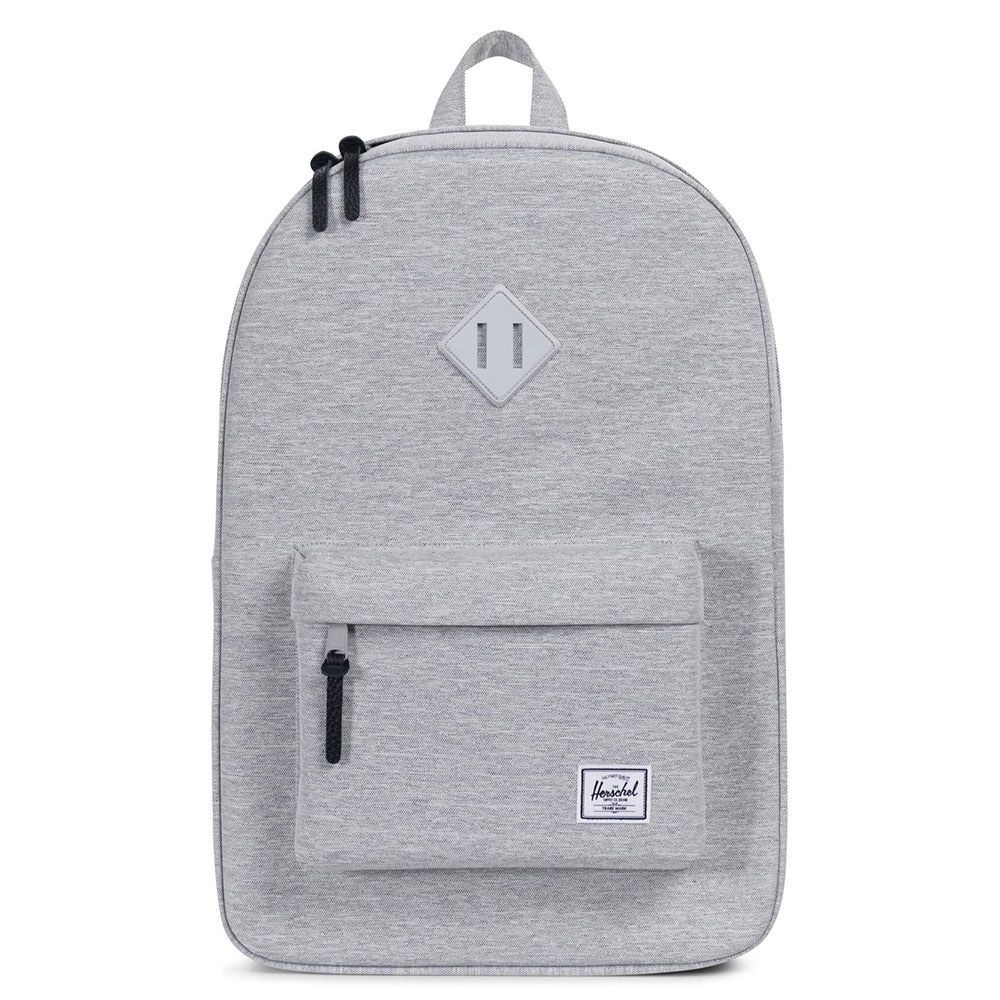 Herschel Heritage Rugzak Light Grey Crosshatch
