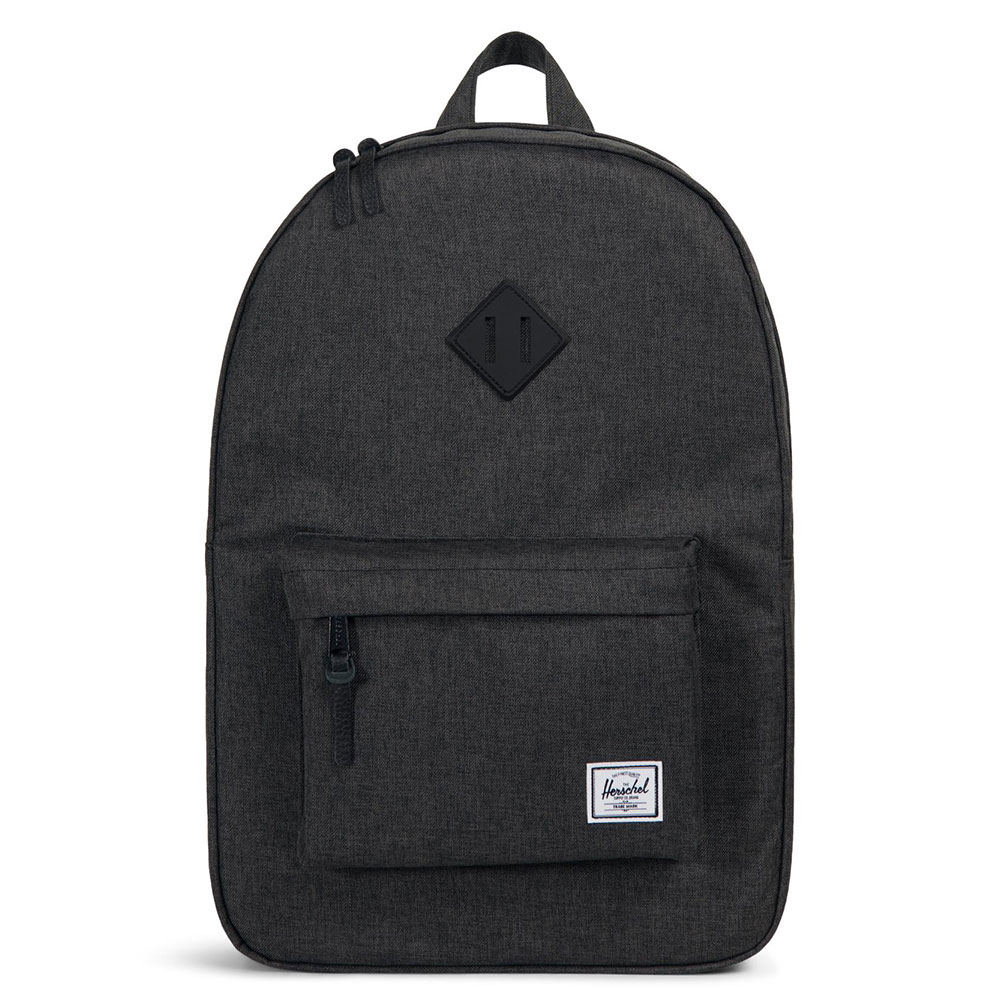 Herschel Heritage Rugzak Black Crosshatch/Black