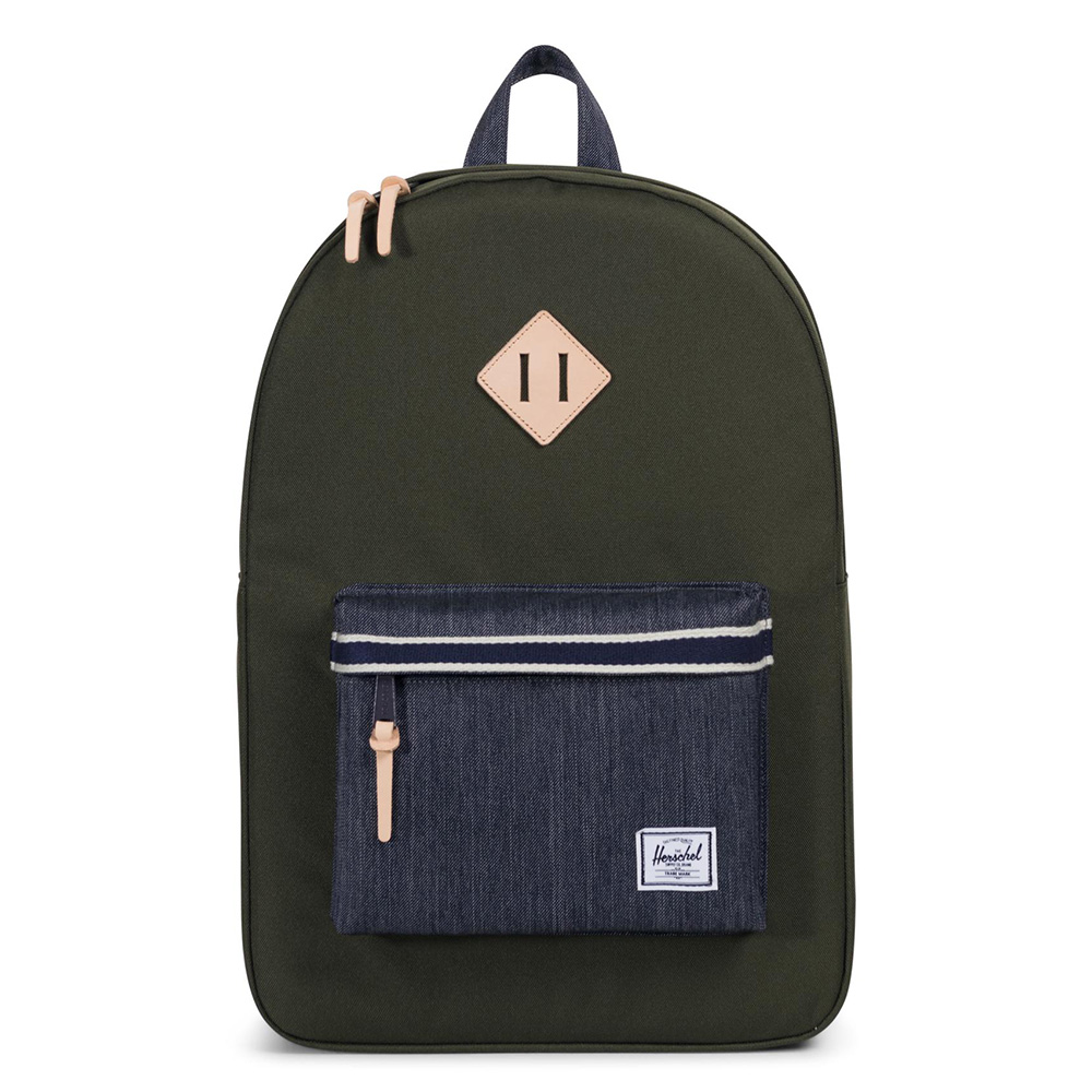 Herschel Heritage Rugzak Offset Forest Night/Dark Denim
