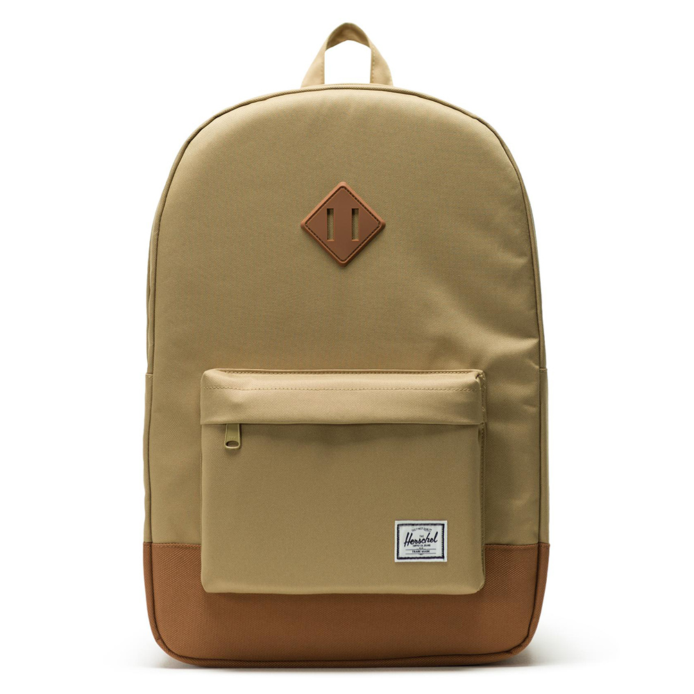 Herschel Heritage Rugzak Kelp/Saddle Brown