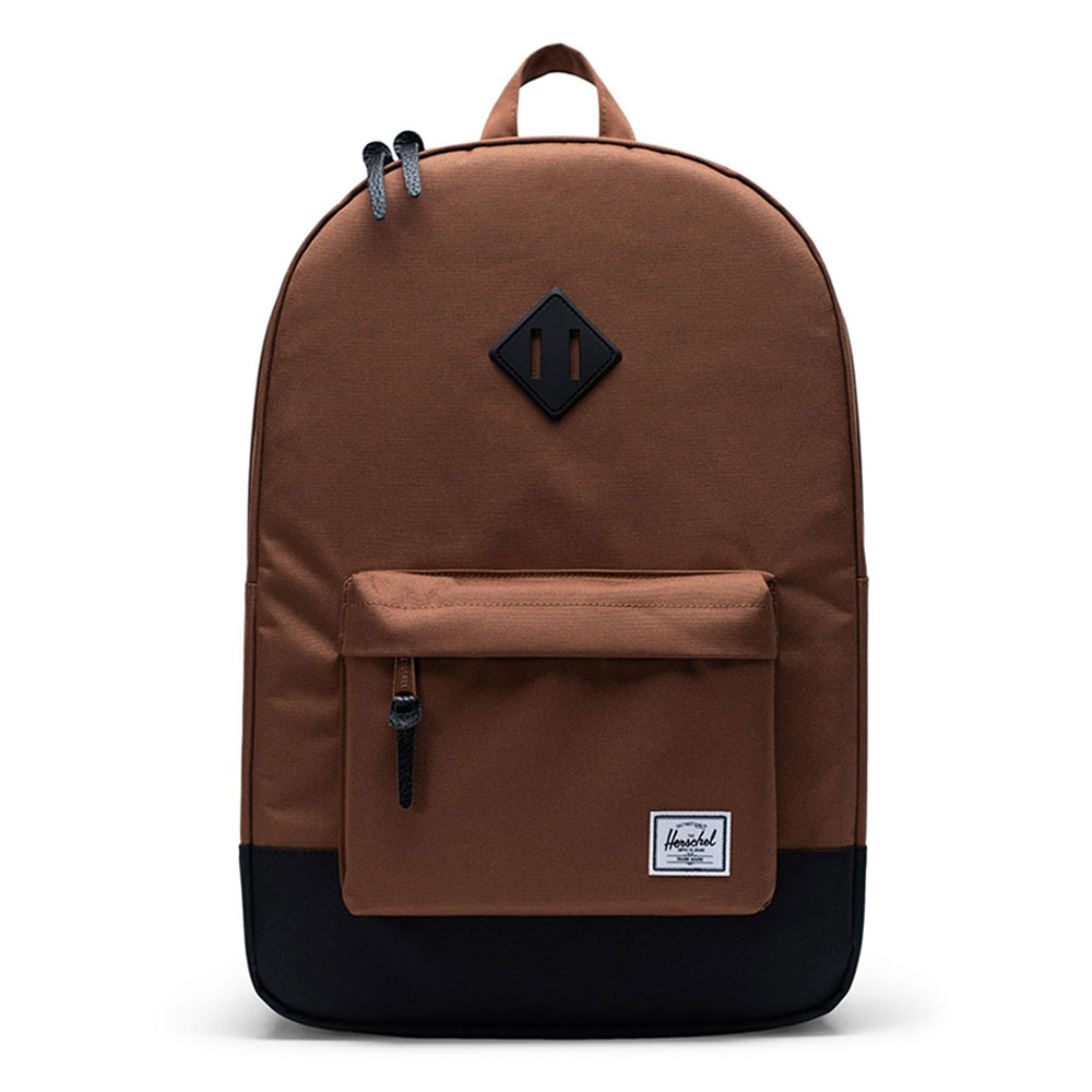 Herschel Heritage Rugzak Saddle Brown/Black