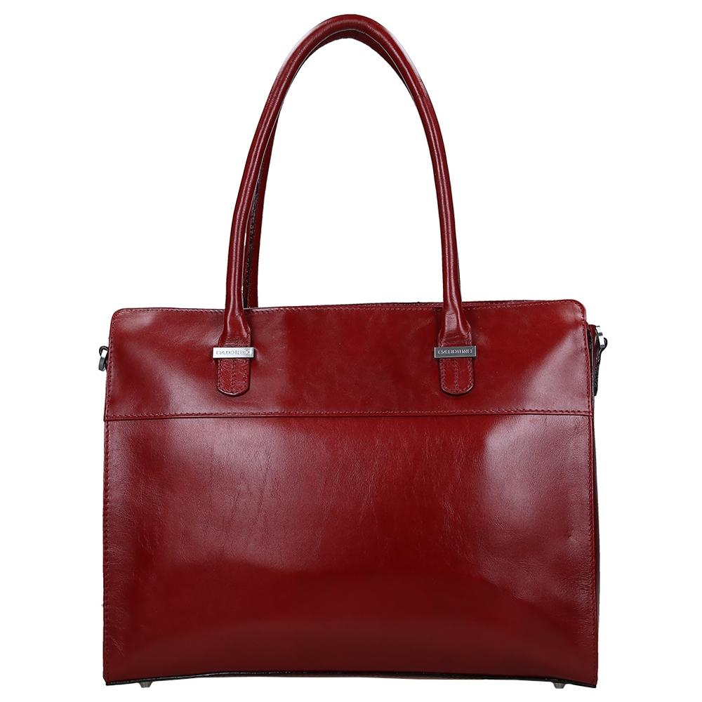 Claudio Ferrici Classico Businessbag Red 18038