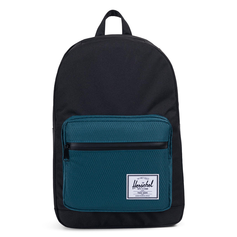 Herschel Pop Quiz Rugzak Black/Deep Teal