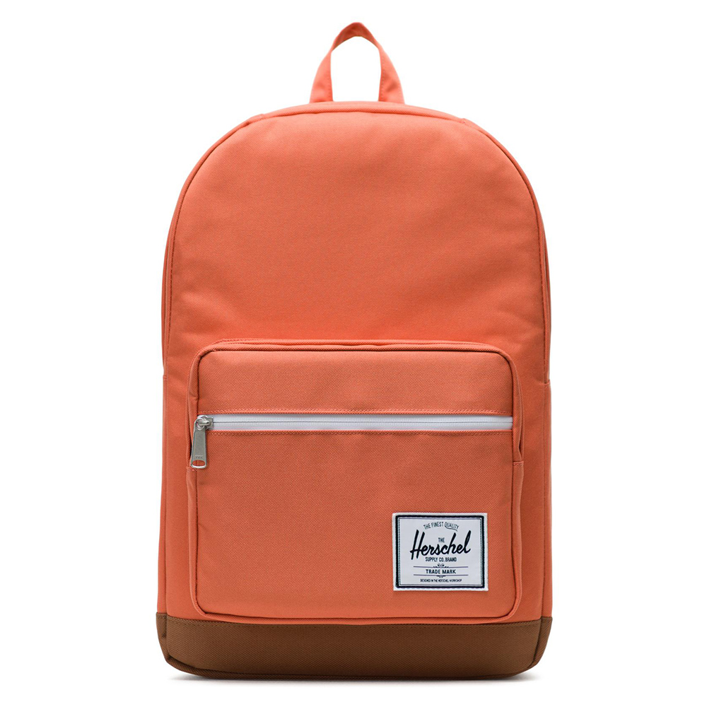 Herschel Pop Quiz Rugzak Apricot Brandy/Saddle Brown