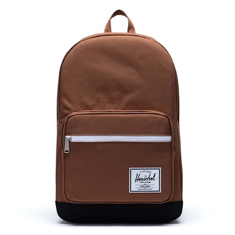 Herschel Pop Quiz Rugzak Saddle Brown-Black