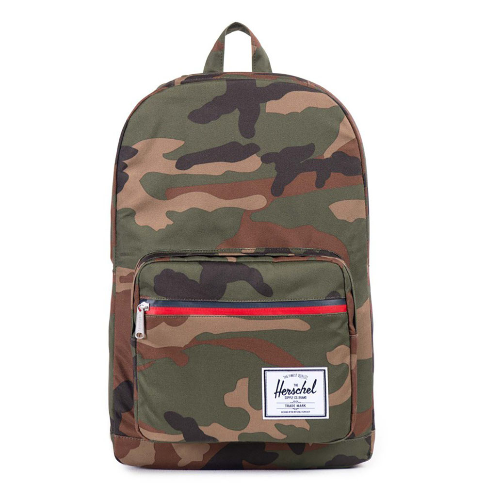 Herschel Pop Quiz Rugzak Woodland Camo/ Multi Zip