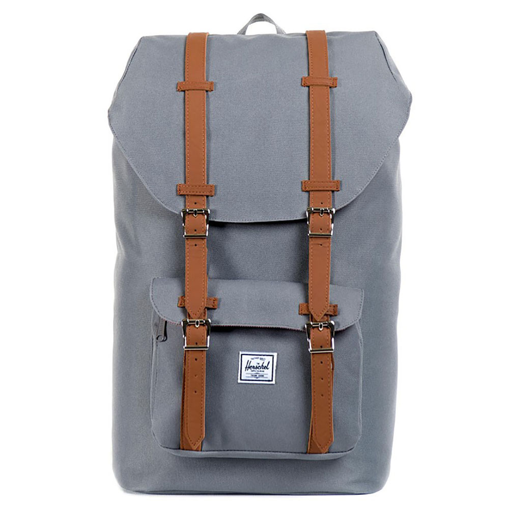 Herschel Little America Grey-Tan PU