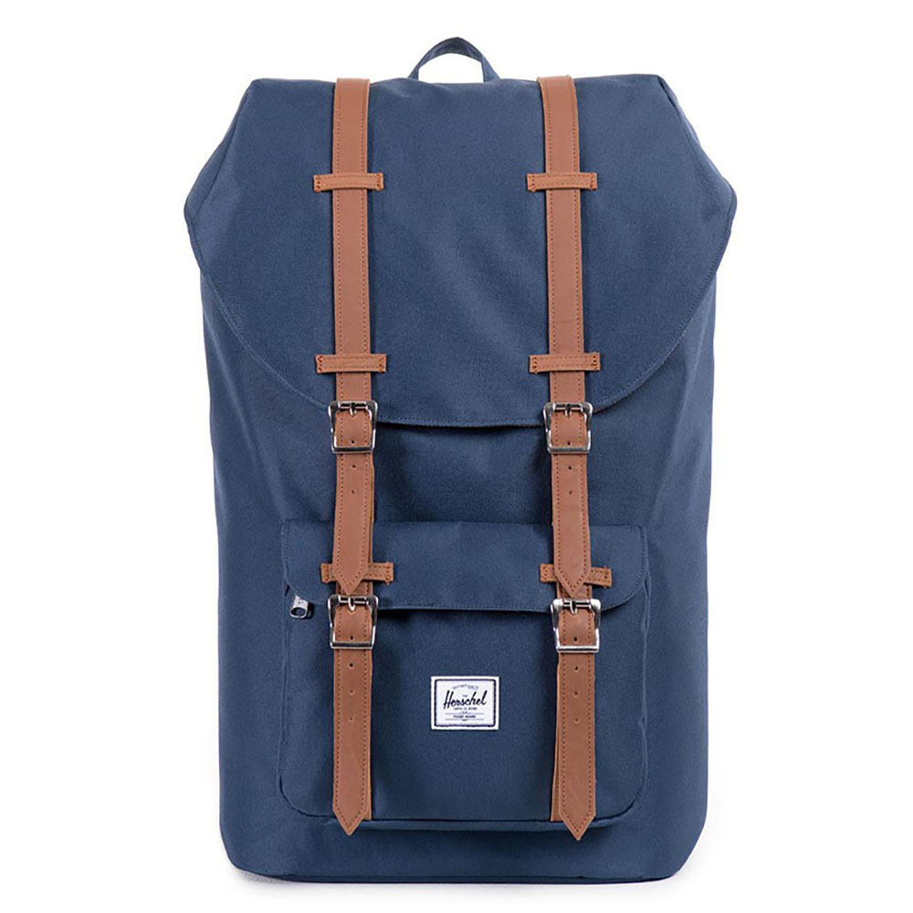 Herschel Little America Rugzak Navy/Tan PU