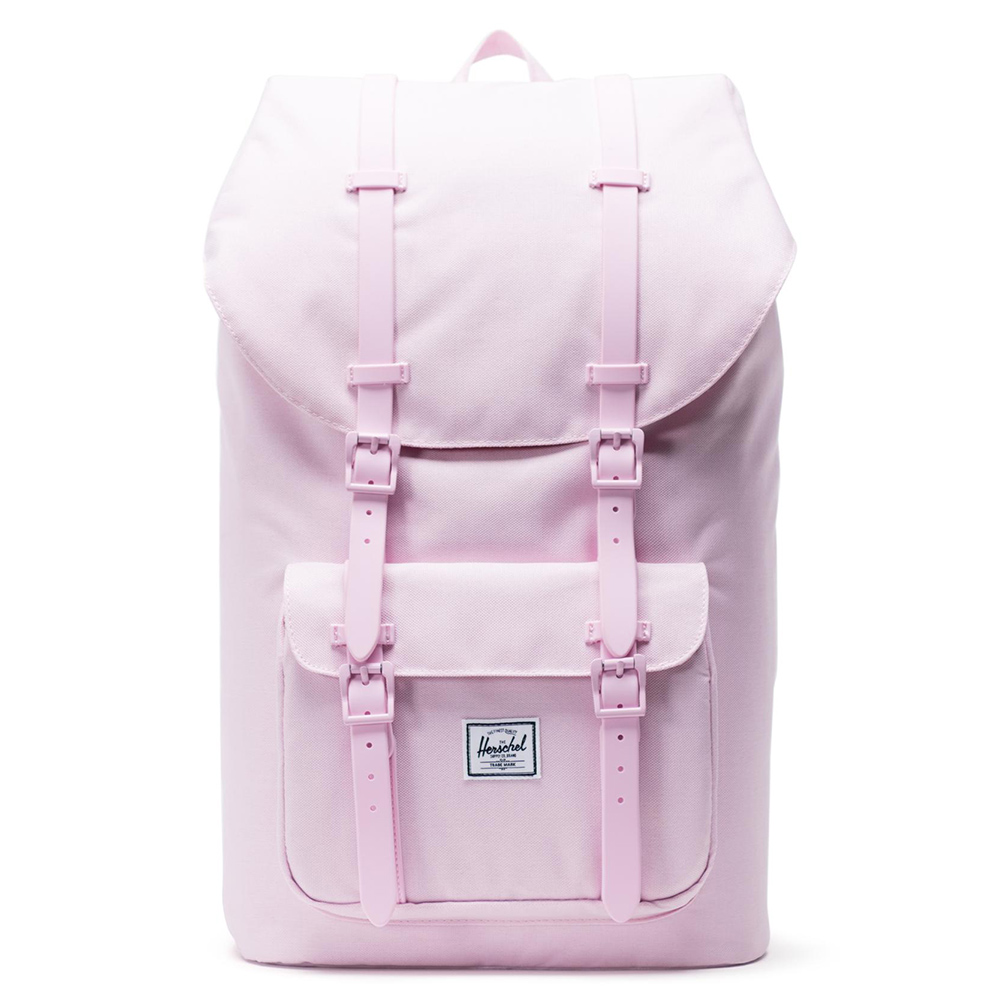 Herschel Little America Rugzak Pink Lady Crosshatch