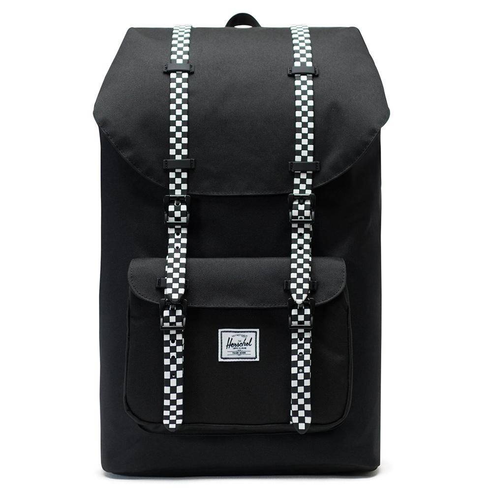 Herschel Little America Rugzak Black/Checkerboard