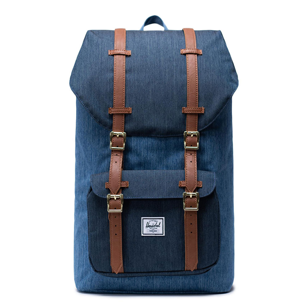 Herschel Little America Rugzak Faded Denim/ Indigo Blue
