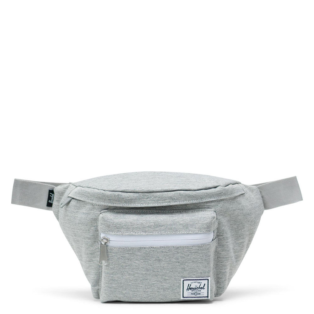 Herschel Seventeen Heuptas Light Grey Crosshatch