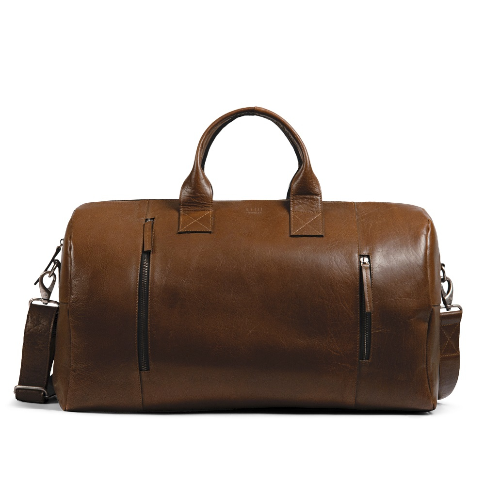 Still Nordic Clean XL Weekend Bag Cognac