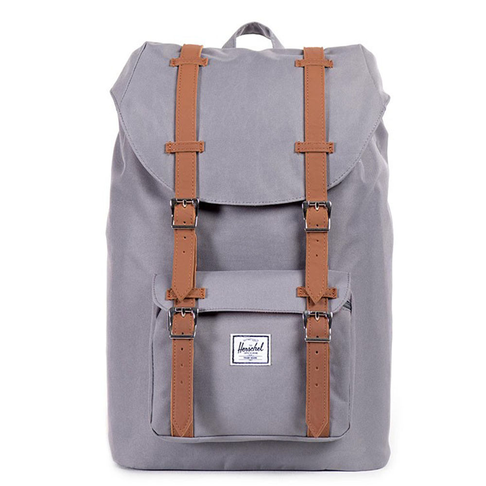 Herschel Little America Mid Volume Rugzak Grey/Tan PU