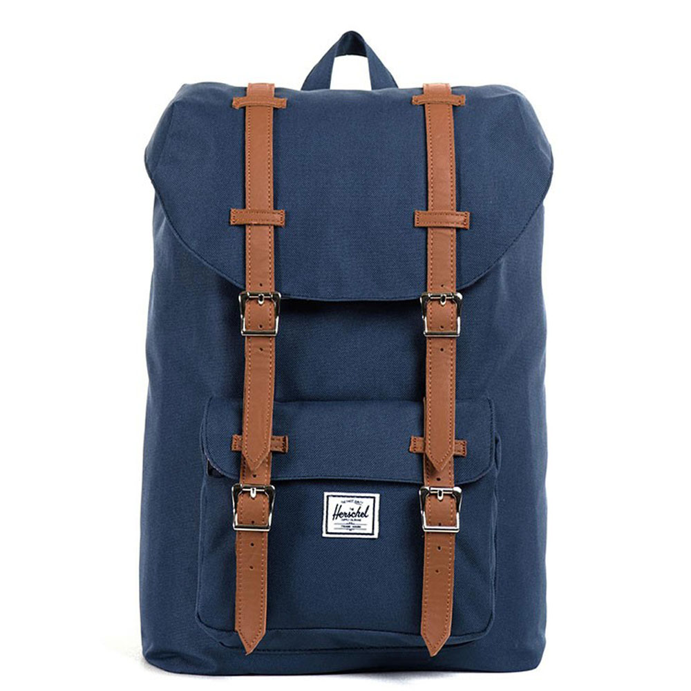 Herschel Little America Mid Volume Rugzak Navy/Tan PU