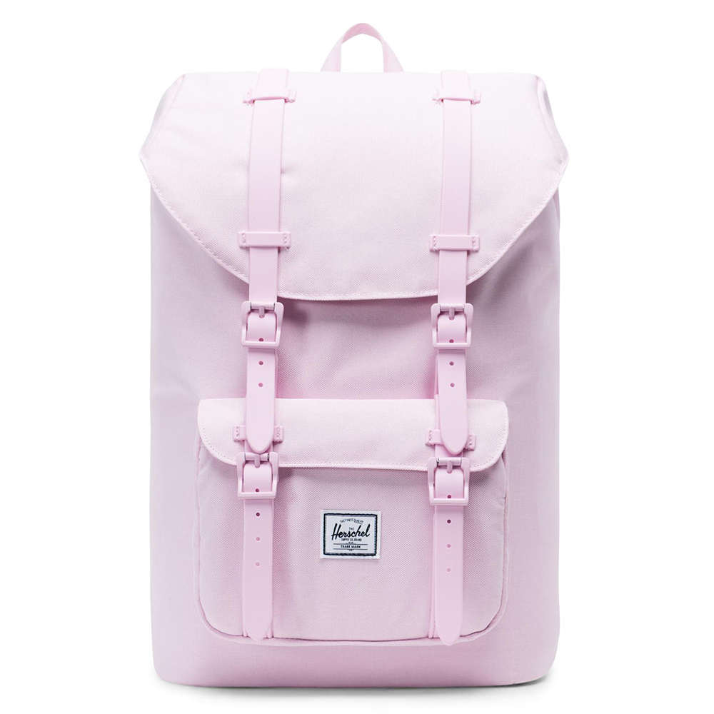 Herschel Little America Mid Volume Rugzak Pink Lady Crosshatch