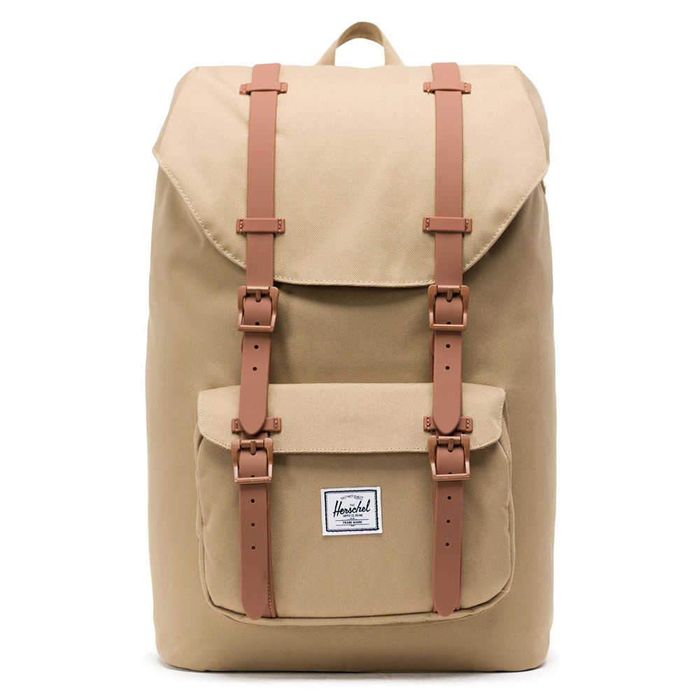 Herschel Little America Mid Volume Rugzak Kelp/Saddle Brown