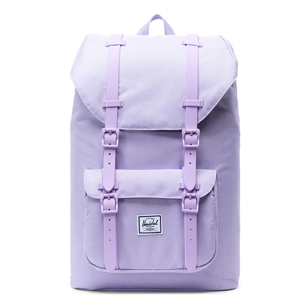 Herschel Little America Mid Volume Rugzak Lavendula Crosshatch/ Rubber
