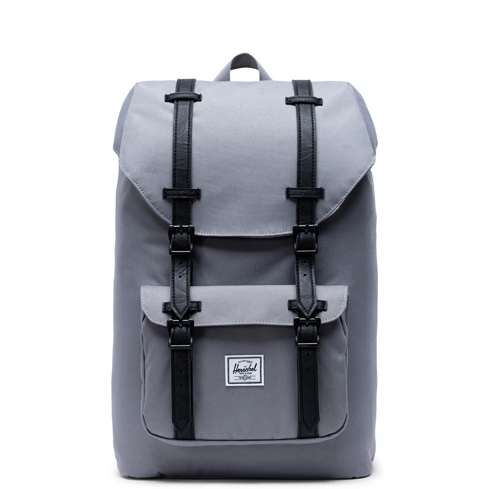 Herschel Little America Mid Volume Rugzak Grey Black