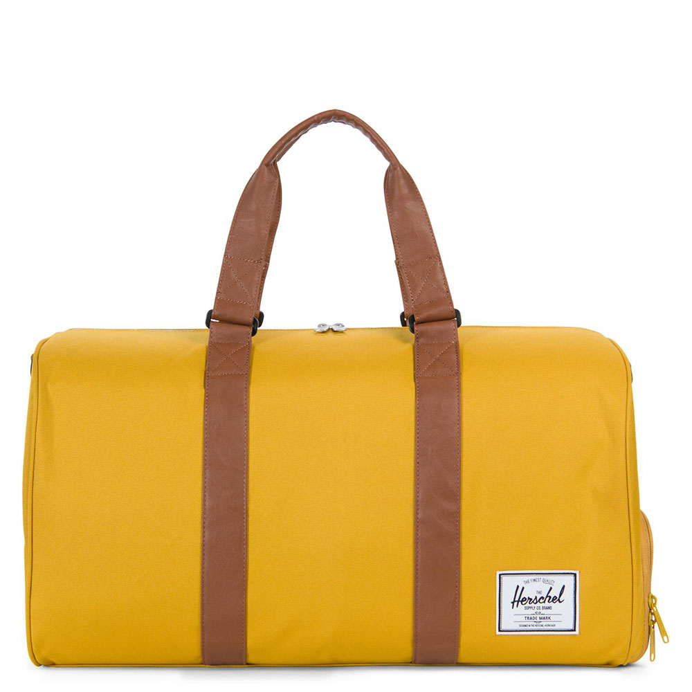 Herschel Novel Reistas Arrowwood/Tan Synthetic Leather