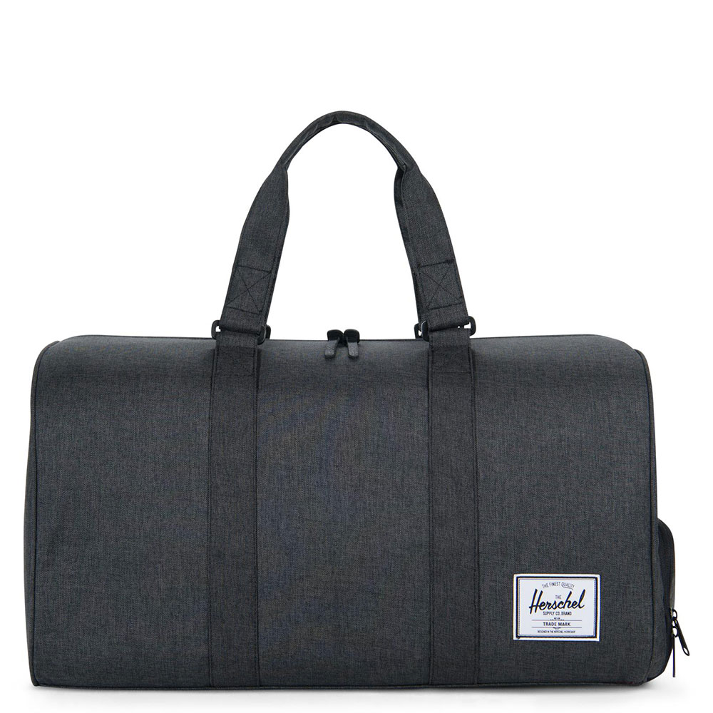 Herschel Novel Reistas Black Crosshatch