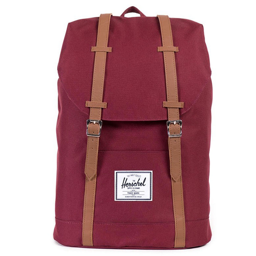 Herschel Retreat Rugzak Windsor Wine/Tan PU
