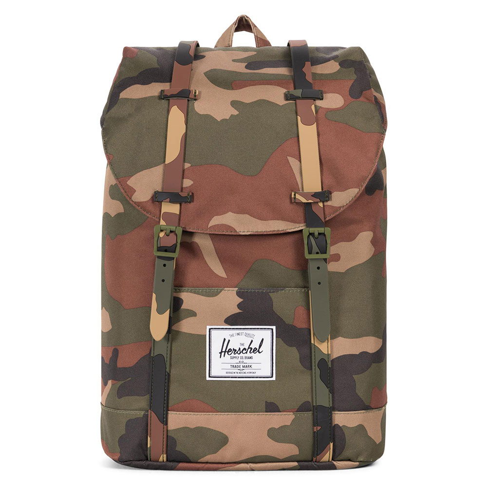 Herschel Retreat Rugzak Woodland Camo