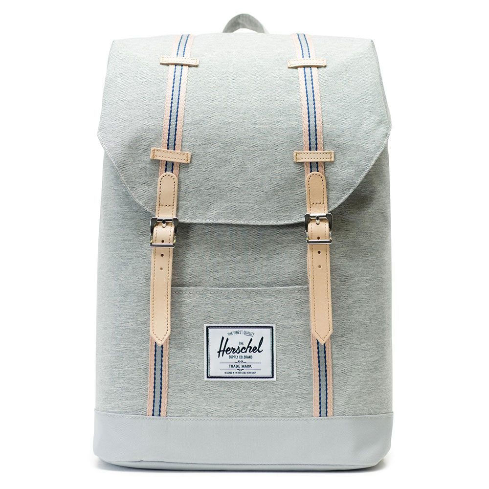 Herschel Retreat Rugzak Offset Light Grey Crosshatch/High Rise