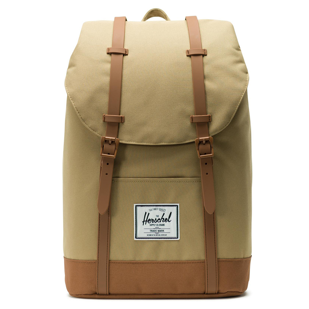 Herschel Retreat Rugzak Kelp/Saddle Brown