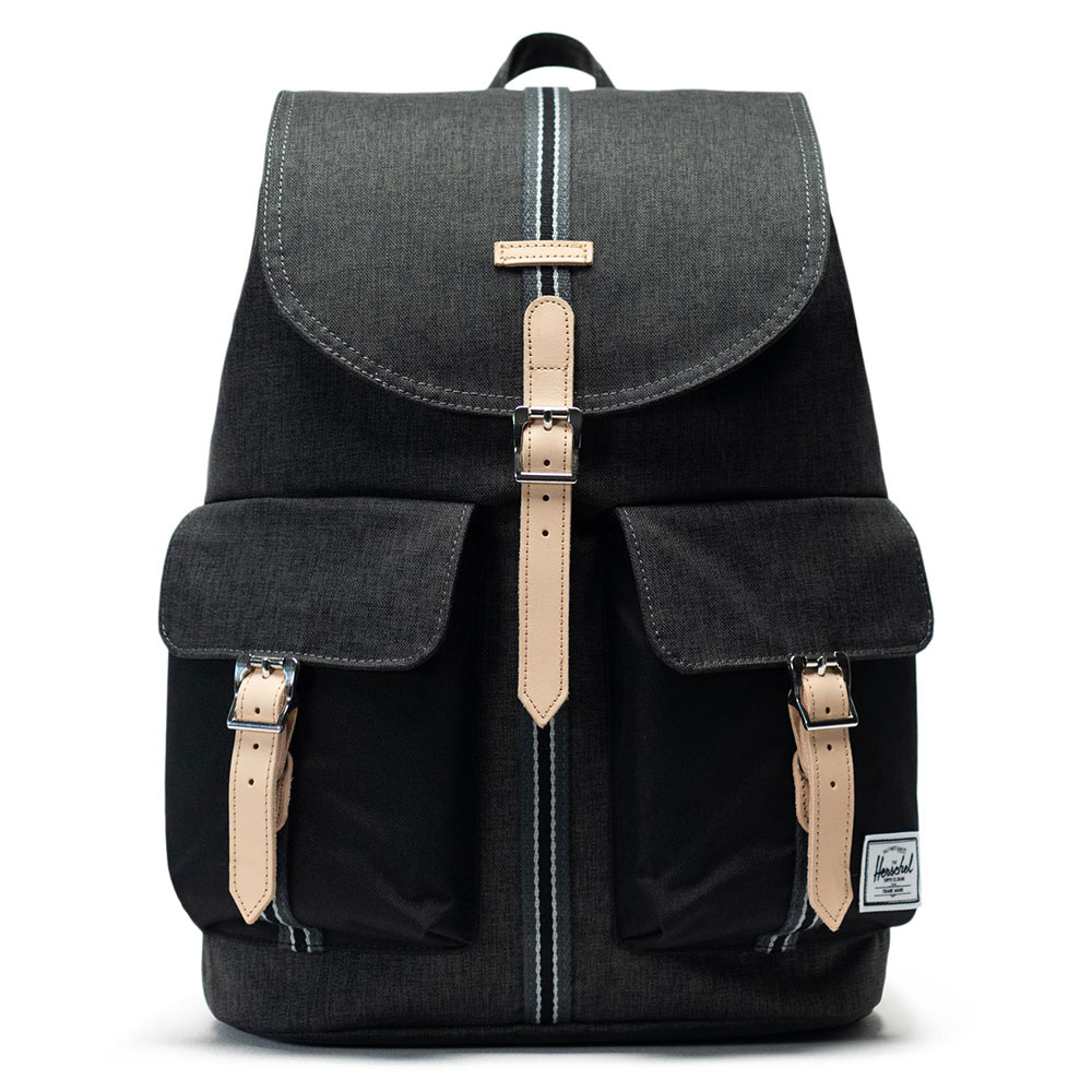 Herschel Dawson Rugzak Offset Black Crosshatch/Black