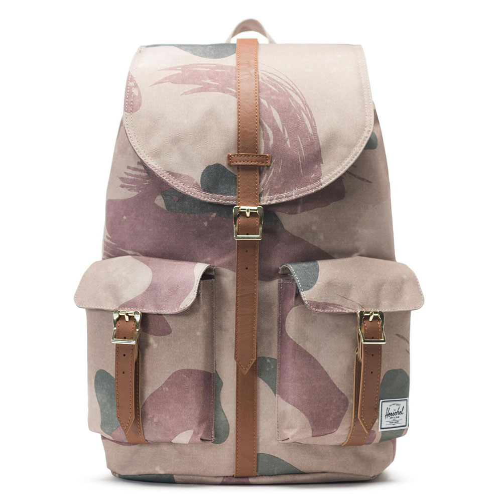 Herschel Dawson Rugzak Brushstroke Camo/Tan Synthetic Leather