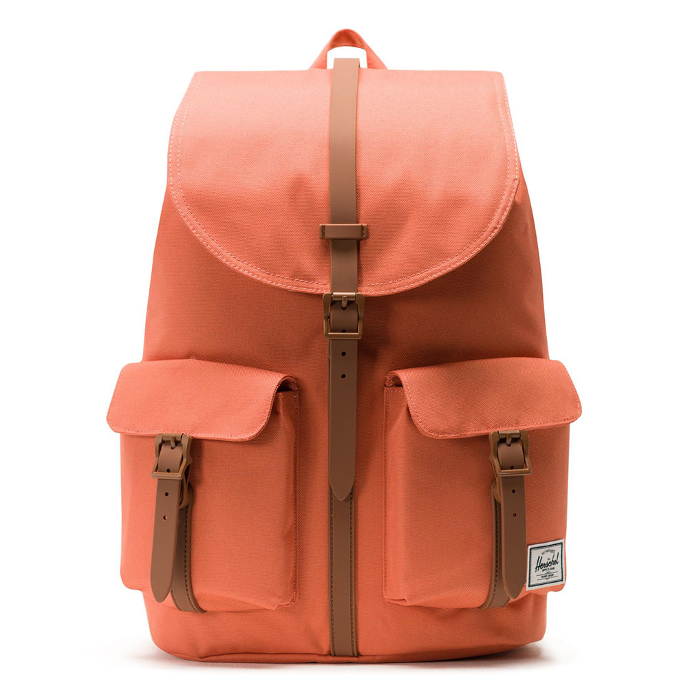 Herschel Dawson Rugzak Apricot Brandy/Saddle Brown