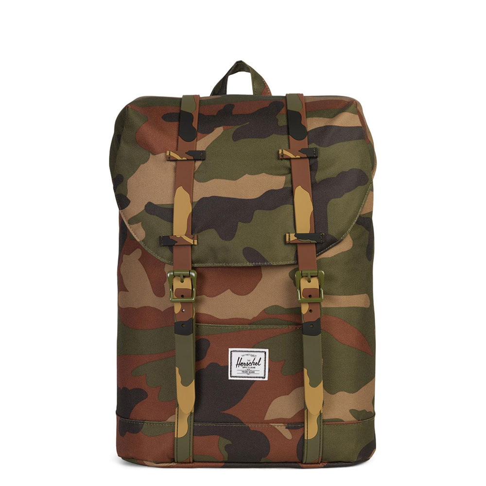 Herschel Retreat Youth Rugzak Woodland Camo