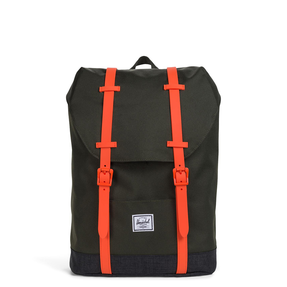 Herschel Retreat Youth Rugzak Forest Night/Black Crosshatch