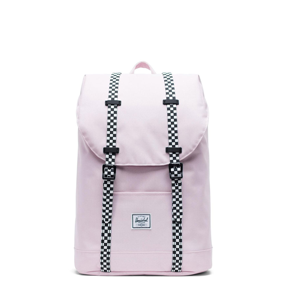 Herschel Retreat Youth Rugzak Pink Lady Crosshatch/Checkerboard
