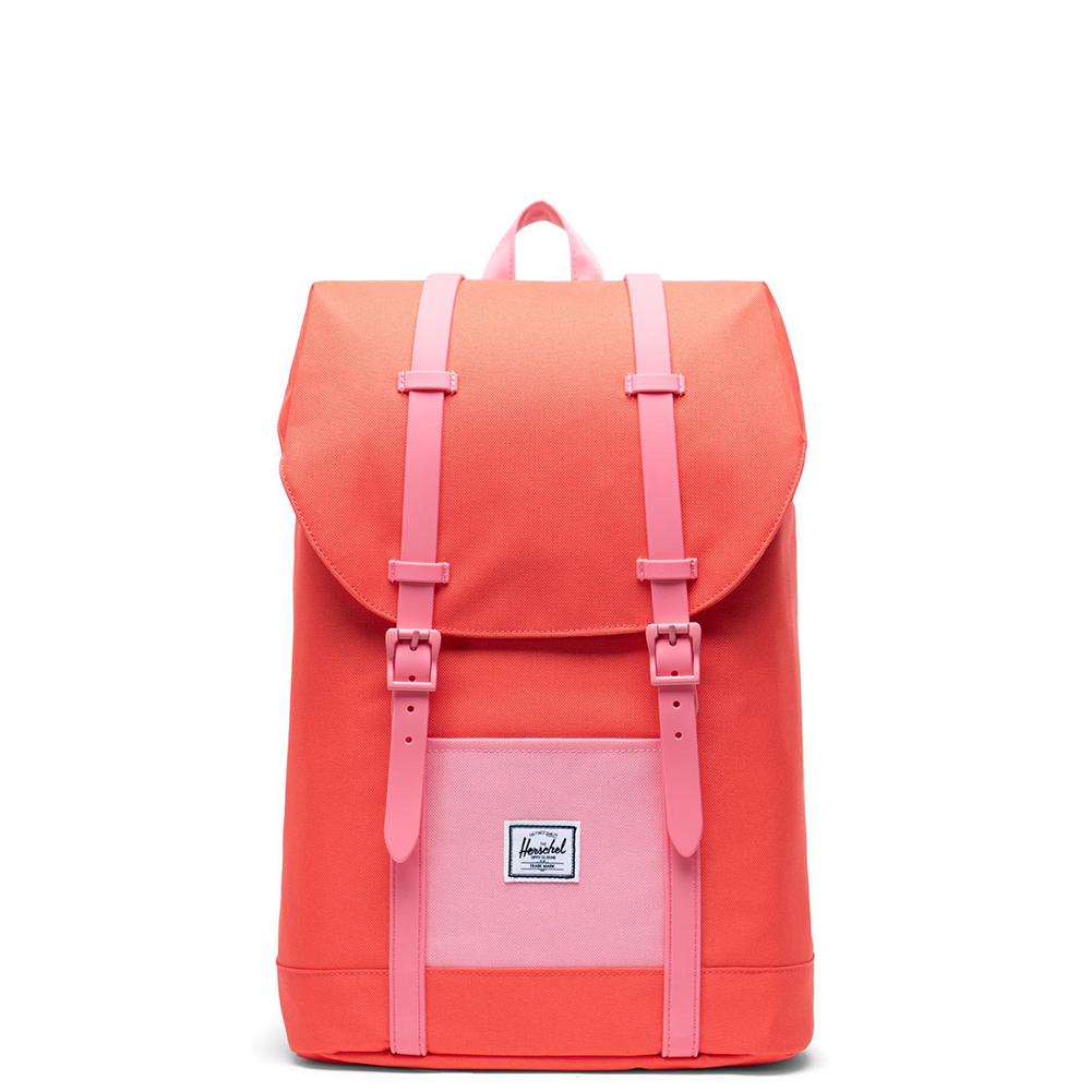 Herschel Retreat Youth Rugzak Hot Coral Flamingo Pink