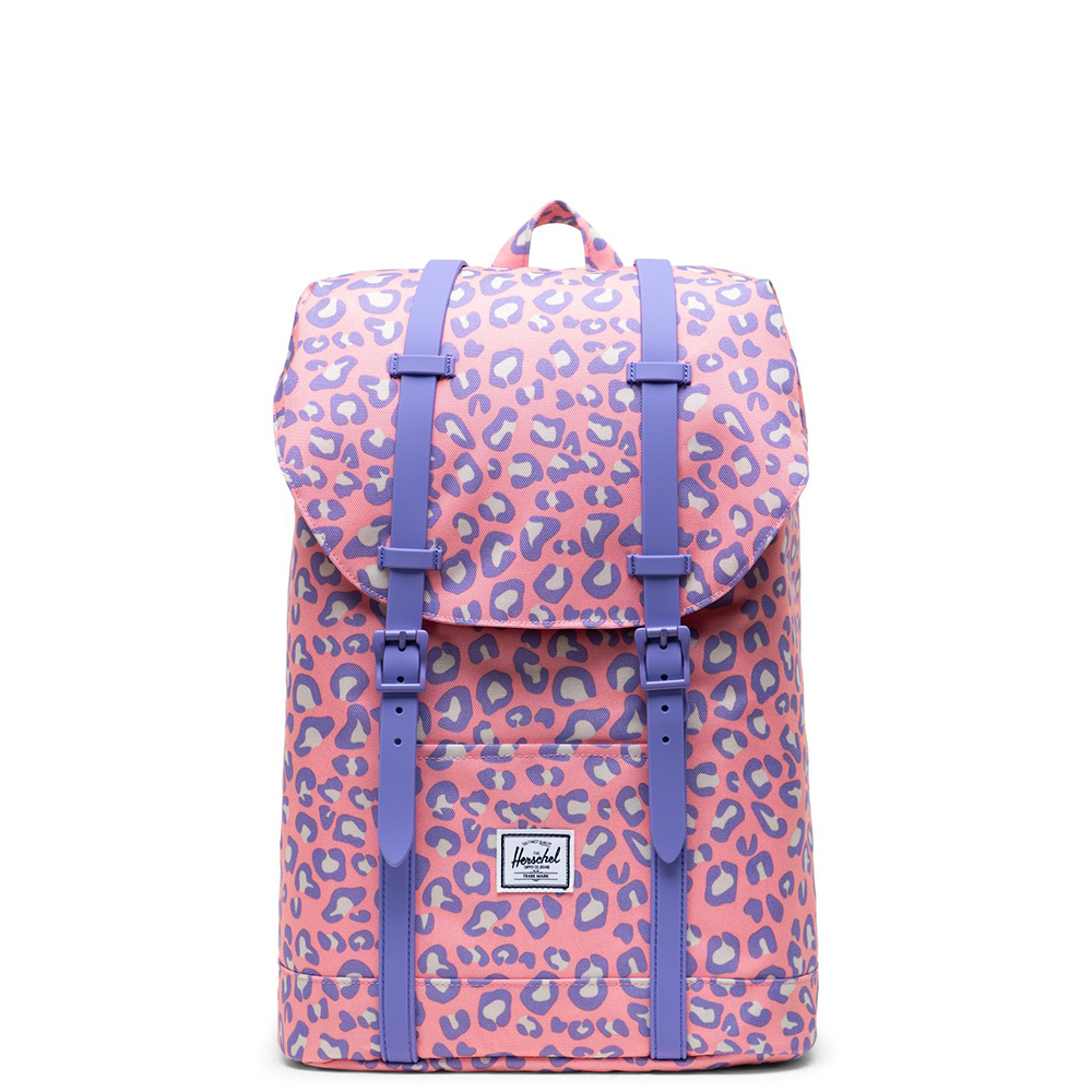Herschel Retreat Youth Rugzak Pop Leopard