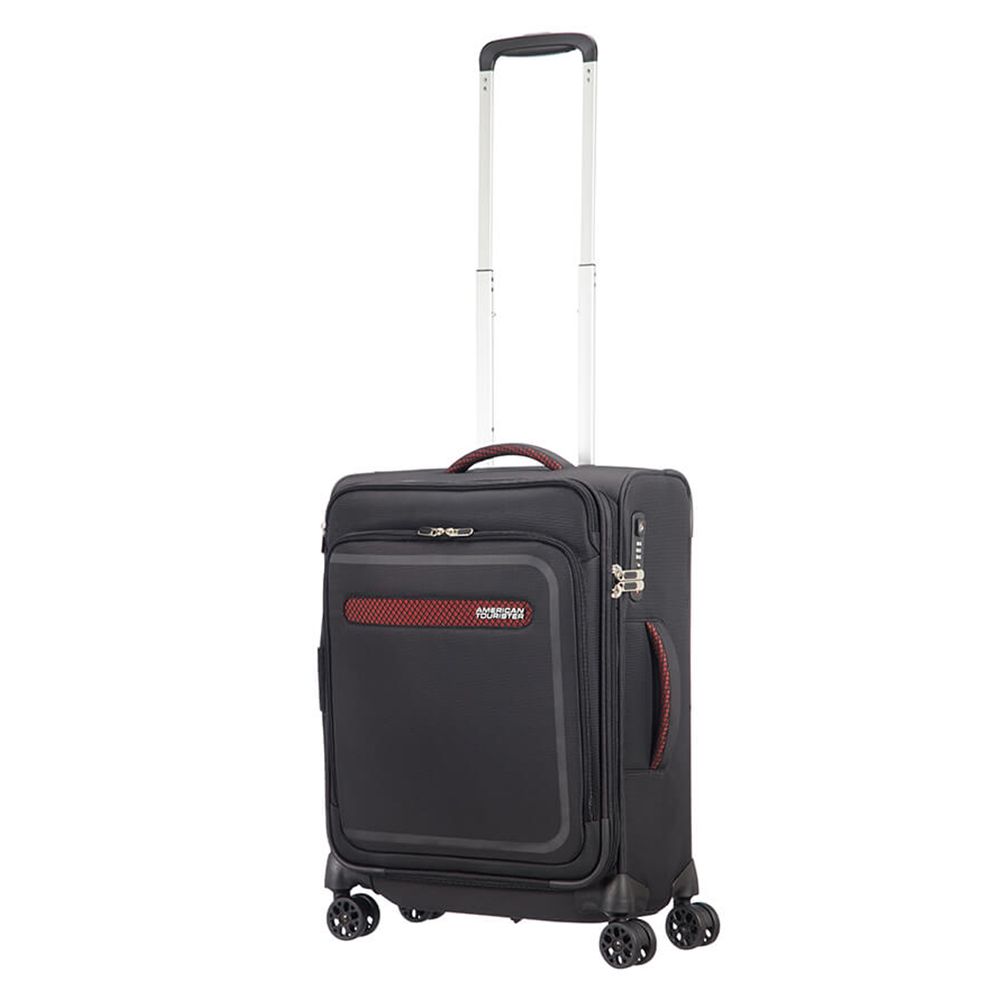 American Tourister Airbeat Spinner 55 Exp. Universe Black