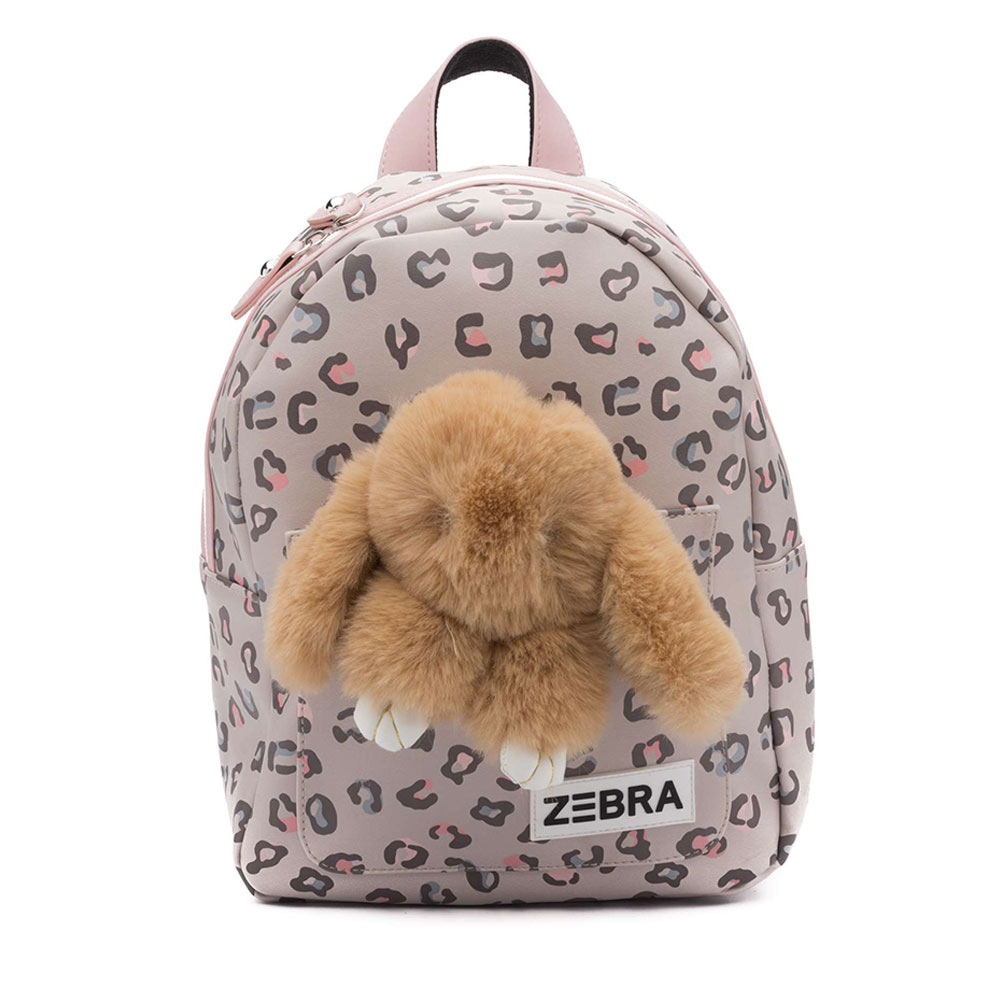 Zebra Trends Kinder Rugzak S Honey Bunny Leo Camel