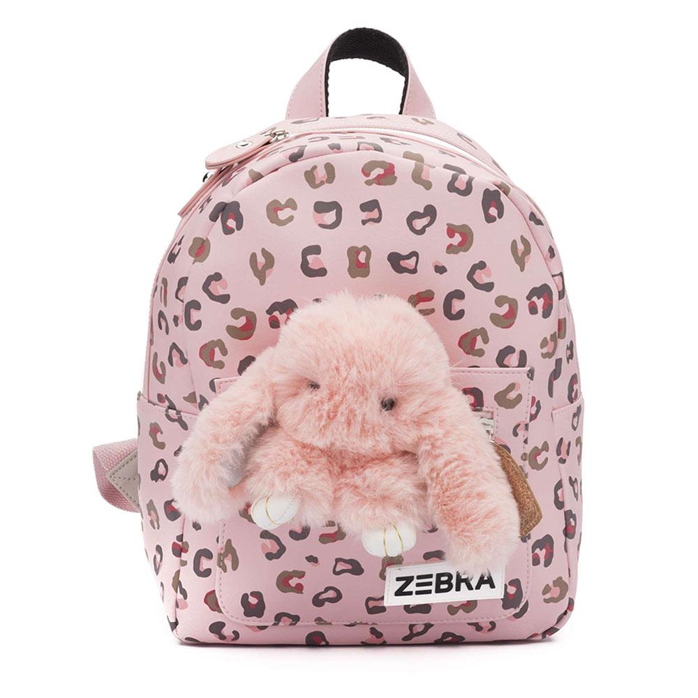 Zebra Trends Kinder Rugzak S Honey Bunny Leo Pink