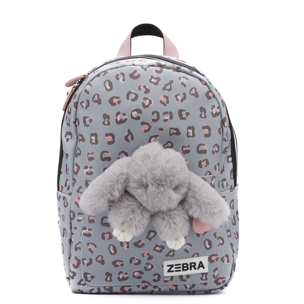 Zebra Trends Kinder Rugzak M Honey Bunny Leo Blue