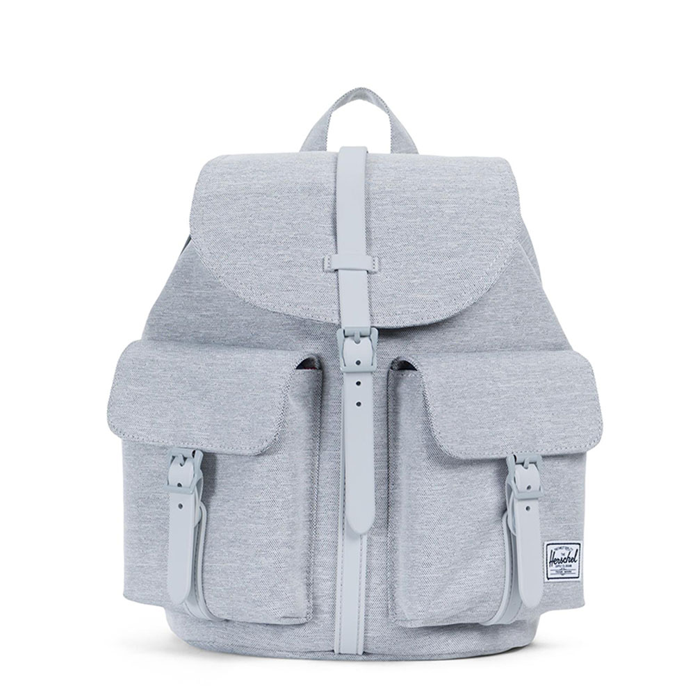 Herschel Dawson Small Rugzak Light Grey Crosshatch